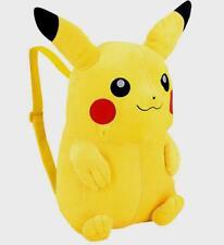 "Pokemon Pikachu 18"" Plush Backpack New w tags 2011 Pajamas keeper & more"