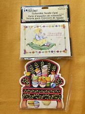 Collectible Needle Cards(2) Chair Of Bowlies 25 Dritz Needles