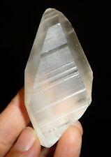 Lemurian Quartz Crystal Natural Point Brazil 78.1 grams Reiki