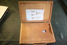 Loxley Wiltshire Caja de Madera Pochade Sketch Travel /& Studio pintura caballete