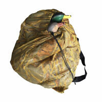 Large Decoy Mesh Bag Backpack With Shoulder Strap Camo for Duck Goose Storage