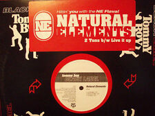 """NATURAL ELEMENTS + CHARLEMAGNE - 2 TONS b/w LIVE IT UP (12"""")  1999!!!  RARE!!!"""