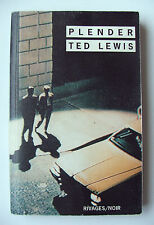 TED LEWIS : PLENDER ° RIVAGES/NOIR ° 1996