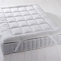 Plush 2 inch Down Alternative Mattress Topper With Anchor Bands