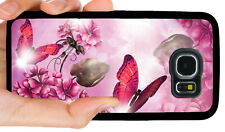 BUTTERFLY PHONE CASE FOR SAMSUNG NOTE 9 & GALAXY S3 S4 S5 S6 S7 S8 S9 S10 PLUS