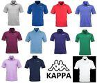 Kappa Polo T-shirt Uomo Maglietta Maglia Sport Mare Barca a Vela Tennis Calcio