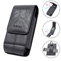 For LG Stylo 5 / 5v / 5+,V50 ThinQ 5G ,Leather Case Carrying Pouch Clip Holster