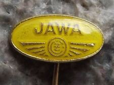 Antique Jawa CZ Motocross Road Motorcycles Motorbikes Czech Advertsing Pin Badge