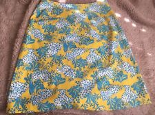 "Vtg 1960's The ""LILLY"" PULITZER Leopard Print Skirt RARE! Original Skirt Sz 12"