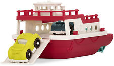 Ferry Boat Floating Bath Toy Boat With Cars For Toddlers Age 1 Up 3 Pc