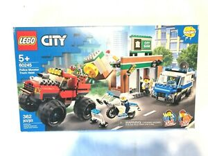 LEGO City Police Monster Truck Heist 60245 Police Toy - NEW