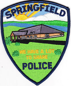 Springfield Police Minnesota Patch  MN
