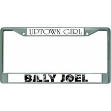 LOVE IS LIKE A TUG-OF-WAR ONE JERK AFTER ANOTHER GIRL POWER License Plate Frame