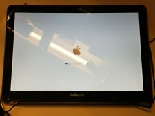 """Apple Macbook Pro 13"""" A1278 LCD Screen Panel Gold Cracked Glass Faulty"""