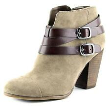 Botas de mujer de color principal beige de lona talla 40