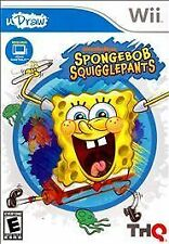Spongebob Squigglepants uDraw Nintendo Wii Wii Genuine Video Game New Sealed Box