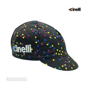 Cinelli Cycling Cap Collection : CALEIDO DOTS