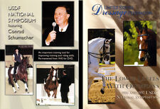 2 x DVD - USDF Dressage Training Horse Conrad Schumacher - 3 Hrs of Training