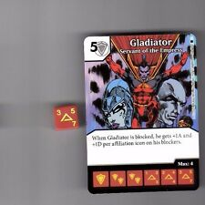 DICE MASTERS AMAZING SPIDER-MAN COMMON #50 GLADIATOR SERVANT EMPRESS WITH DICE