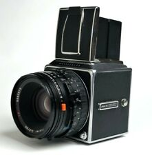 Hasselblad 500 CM Camera with Zeiss Planar 2.8/ 80 mm CFE/ T Lens