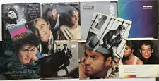 """Lot of 10 GEORGE MICHAEL / WHAM! 7"""" Singles with Picture Sleeves Vinyl 45"""