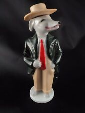 Rare VTG Hot Date Aftershave Figural Figurine Porcelain Bottle Zoot Suit Perfume