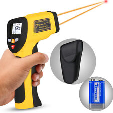 Dual Laser Temperature Gun Digital Infrared Thermometer for Cooking Food/Candy
