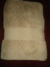 VINTAGE RALPH LAUREN LAWTON TAN (1PC) BATH TOWEL 100% COTTON 28 X 51
