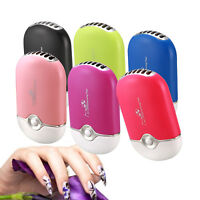 USB Mini Fan Air Conditioning Blower For Eyelash Extension Glue Drying Tool #US