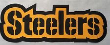 """HUGE PITTSBURGH STEELERS IRON-ON PATCH - 3.5"""" x 10"""""""
