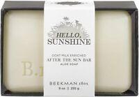 Hello Sunshine After the Sun Bar Soap by Beekman 1802, 9 oz