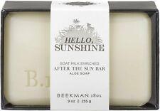Hello Sunshine After the Sun Bar Soap, Beekman 1802, 9 oz