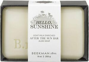 Hello Sunshine After the Sun Bar Soap by Beekman 1802, 9 oz