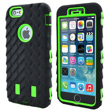 Heavy Duty Tyre Rugged Shock Proof Builder Case Cover For iPhone 6s 7 8 Plus SE