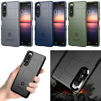 Phone Back Cover Silicone Case Protective for Sony Xperia 1 II Unlocked Dual SIM