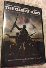 The Great Raid (DVD, 2005, Full Frame) Benjamin Bratt - Based On A True Story