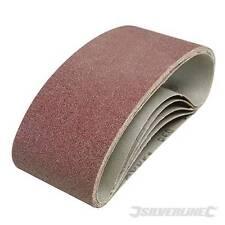 EN STOCK - LOT 20 bandes abrasives pour toutes Ponceuses 75 x 457 mm