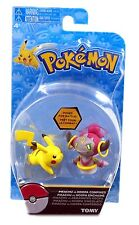 TOMY, Pokemon Action Figure, Pikachu Vs Hoopa Confined, New and Sealed