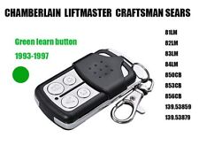 Sears LiftMaster Chamberlain Craftsman 81LM Compatible Garage Door Remote