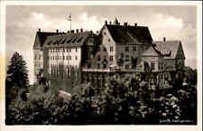 Heiligenberg Baden-Württemberg alte Postkarte 1953 Partie am Schloß Heiligenberg