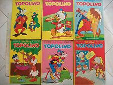 TOPOLINO = WALT DISNEY =MOLTISSIMI NUMERI DI DIVERSI ANNI = AL PEZZO 1,75 EURO
