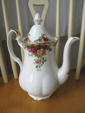 Royal Albert *Old Country Roses* Coffee Pot- Minty