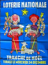 Vintage Loterie Nationale Christmas Poster