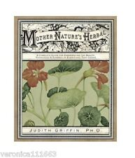 Mother Natures Herbal NEW Book Salve Perfume Folk Lore Multi Culture J. Griffin