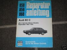 Reparaturanleitung Audi 80 Typ 81 + 85