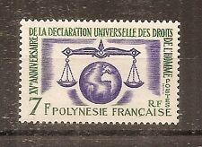 TIMBRE FRANCE FRANKREICH KOLONIE POLYNESIE N°25 NEUF** MNH