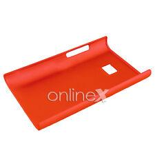 Funda  para LG OPTIMUS L3 E400 Rígida Color ROJO a591