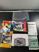 NASCAR 99 (N64 Nintendo 64, 1999) Complete In Box