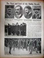 Old Antique Print Ww1 1916 British Siers Havre France Soup Sinn Feiner