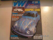 **d Super VW Magazine n°106 Cox Graphique de 1970 / 1300 de 1967